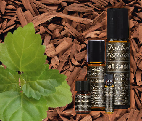 Patchouli Sandalwood Perfume - Fabled Fragrances