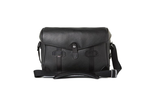 Barber Shop Page Boy Small Messenger Leather Bag