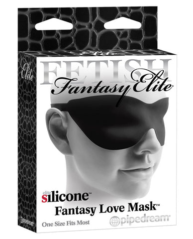 Fetish Fantasy Elite Love Mask - Black