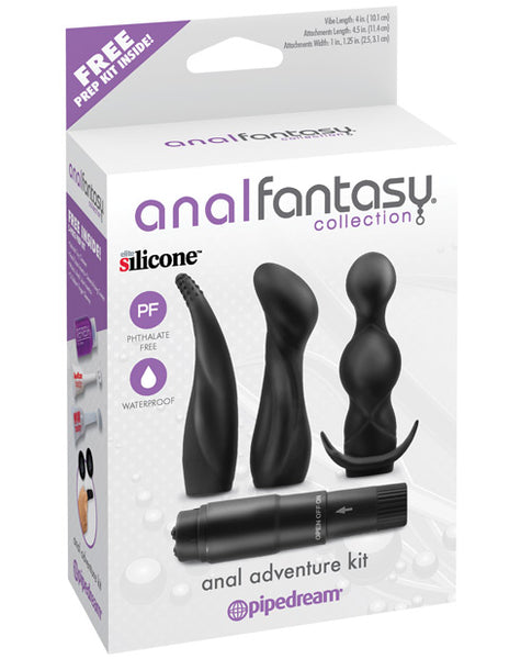 Anal Fantasy Collection Anal Adventure Kit - Black