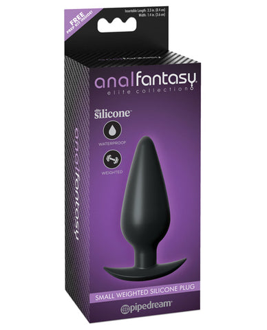 Anal Fantasy Collection Silicone Plug - Small