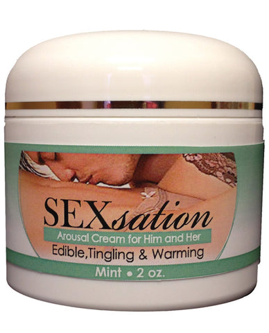 Sexsation Arousal Cream - 2 Oz Mint