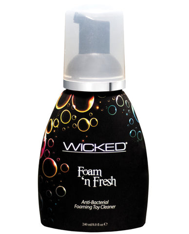 Wicked Sensual Care Anti-bacterial Foaming Toy Cleaner - 8 Oz Foam N Fresh