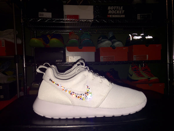 Custom Nike Roshe 'Bling'-Shoe Included-The Firehouse