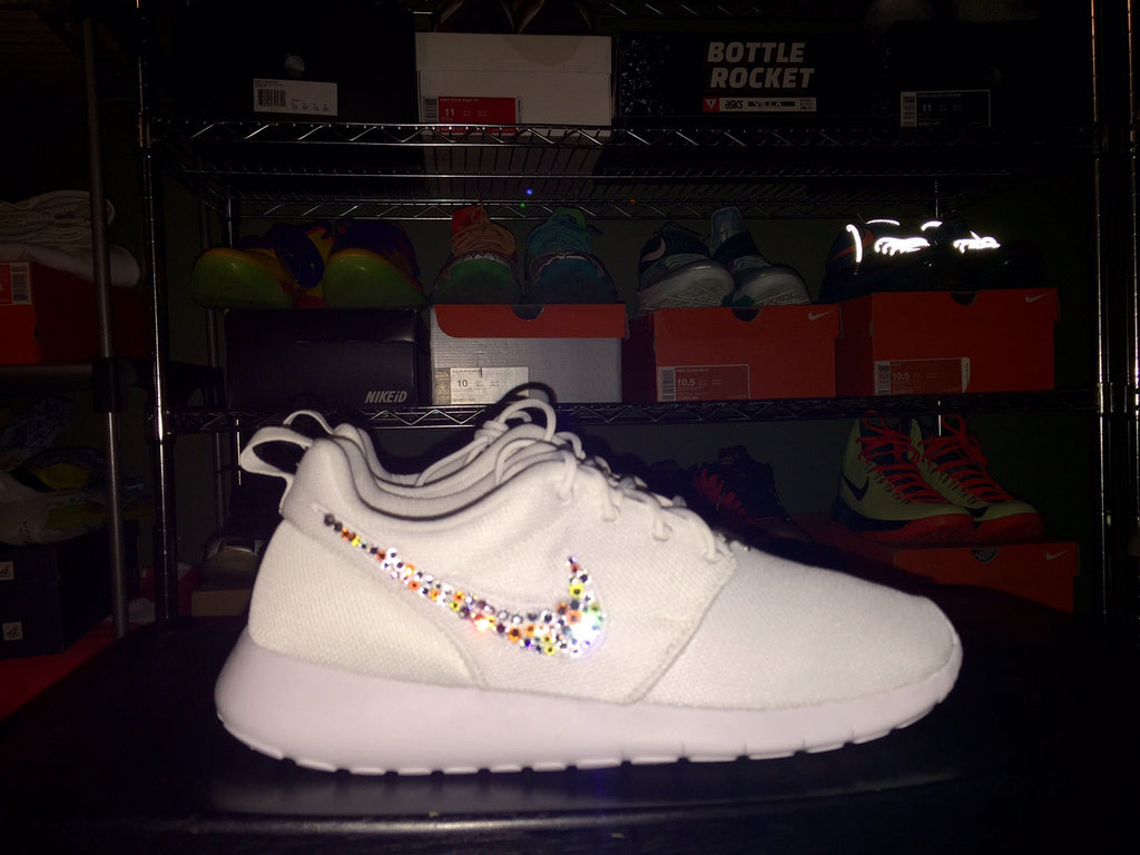 Custom Nike Roshe 'Bling'-Send Your Shoe Sold Out Exclusives The Firehouse - The Firehouse DTX