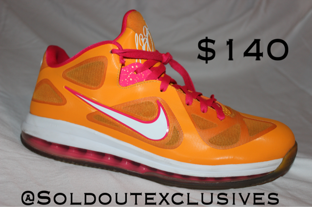 "Lebron 9 Low ""Floridian"" Sold Out Exclusives The Firehouse - The Firehouse DTX"