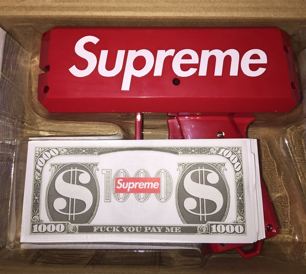 Supreme Money Gun Sold Out Exclusives The Firehouse - The Firehouse DTX