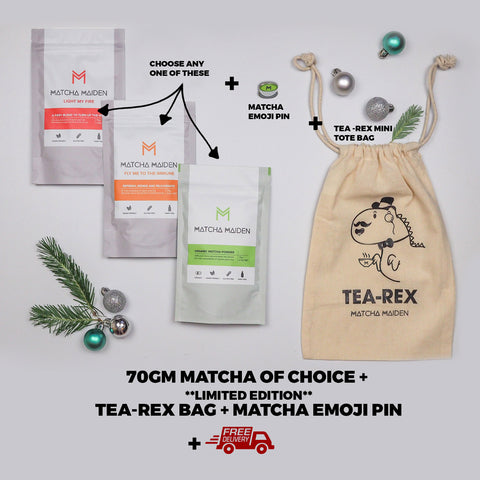 Matcha Holiday Pack 1 (Save 40%)