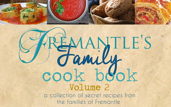 Pre Order Fremantle's Family Cook Book Version 2