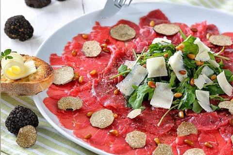 Carpaccio Black Autumn Truffle Recipe