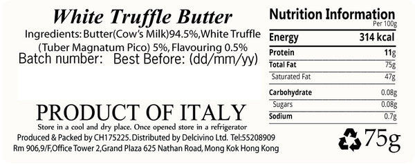 White Truffle Butter (Buy 1 get 2 Free!)