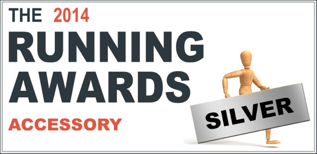 2014 running awards silver accesory logo
