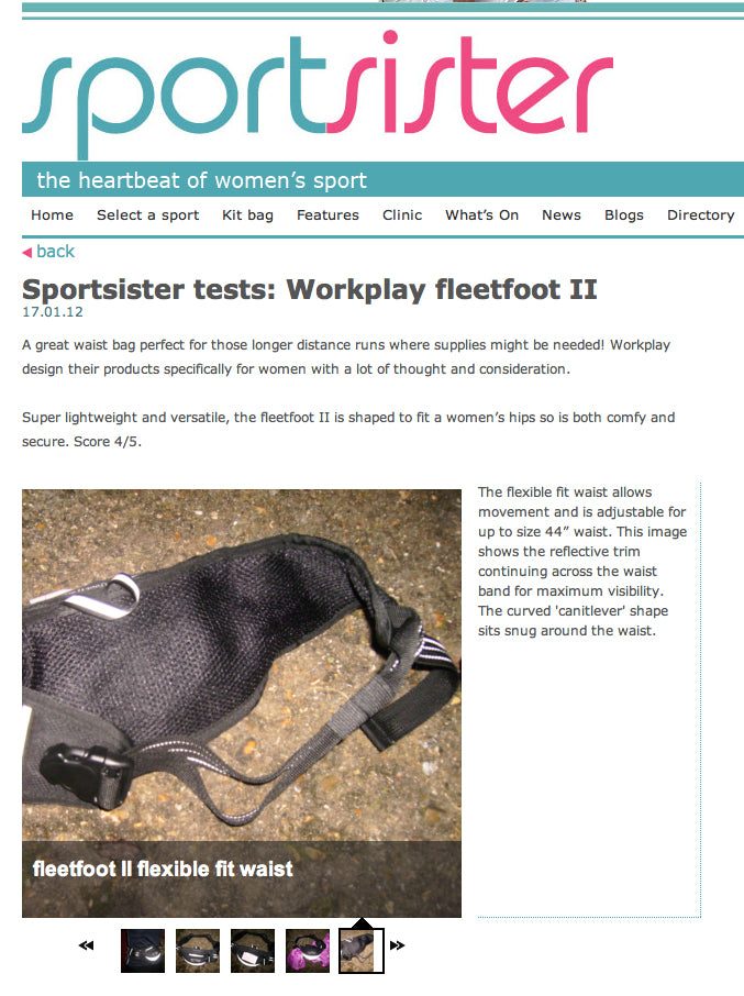 Sportsister blog workplay fleetfoot 2