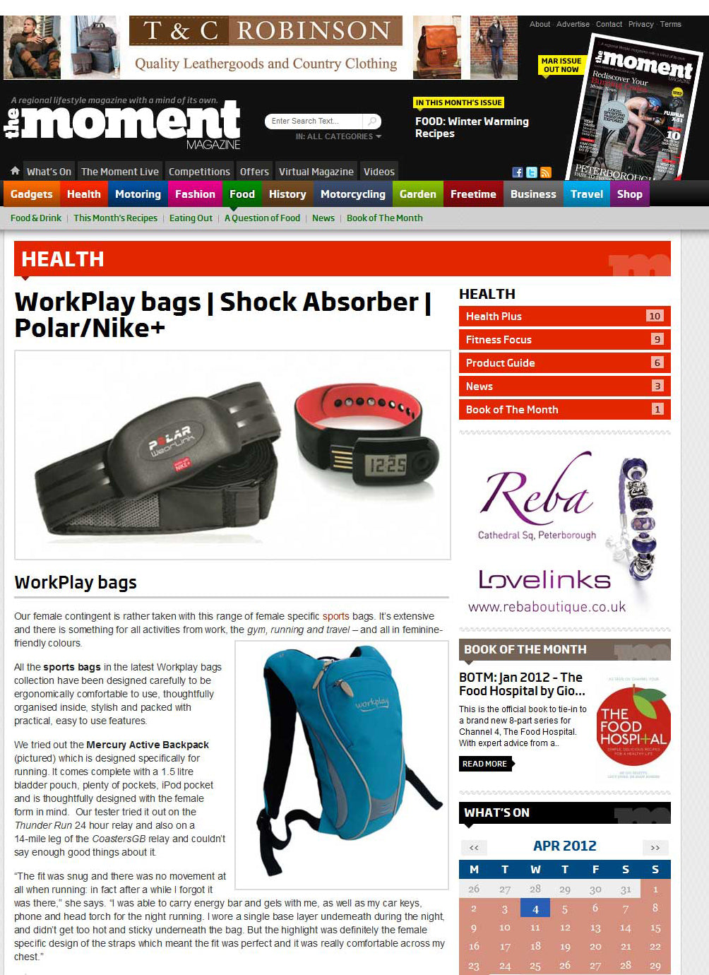 Mercury hydration backpack review The Moment Magazine