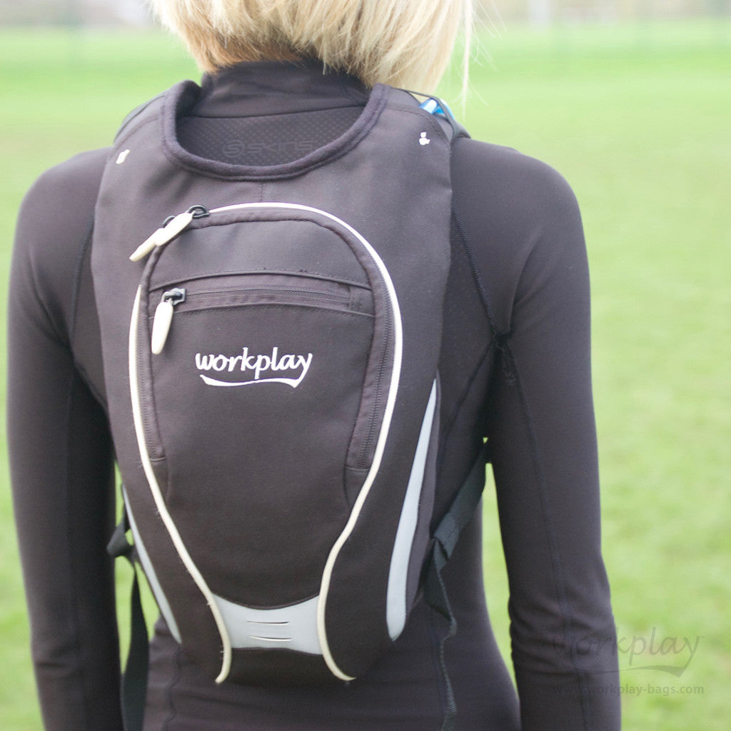 Small Running and Cycling Backpack shaped specially for women - Workplay  Bags