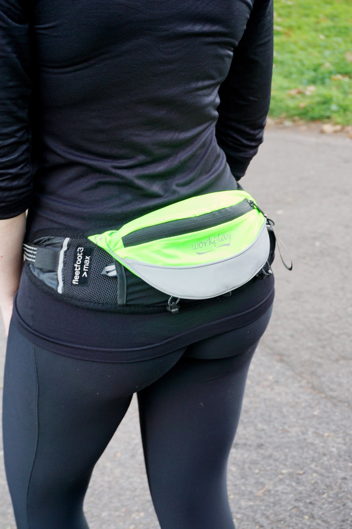 Small Running And Cycling Backpack Shaped Specially For