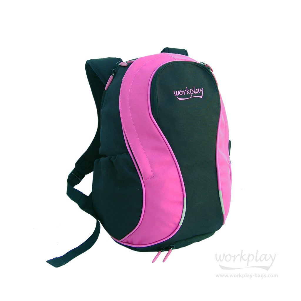 ... Gymwise II Pink Ladies Gym Commuter Backpack  Gymwise II Pink Ladies  Gym Smart Backpack with female straps ... 4e9d095af5