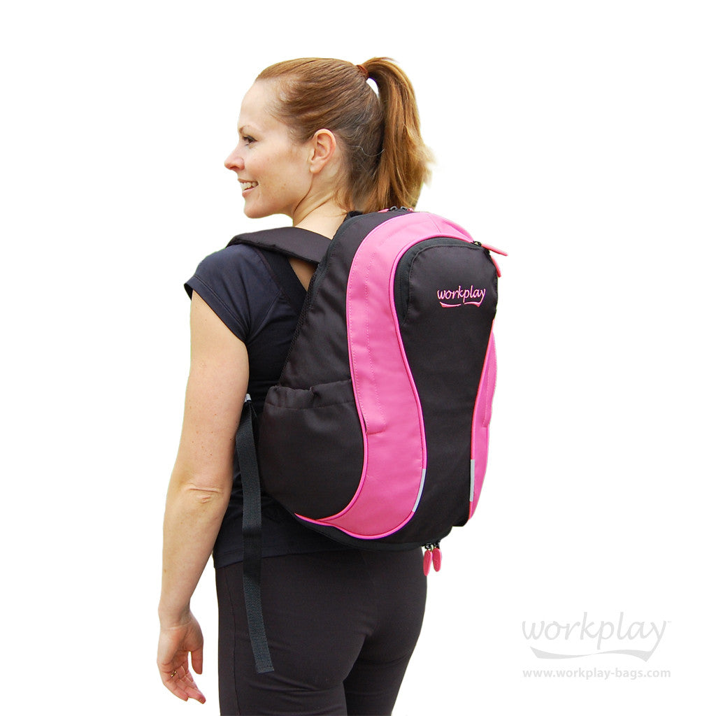 ... Gym Rucksack · Gymwise II Pink Womens Running Backpack ... 51ebae2be4