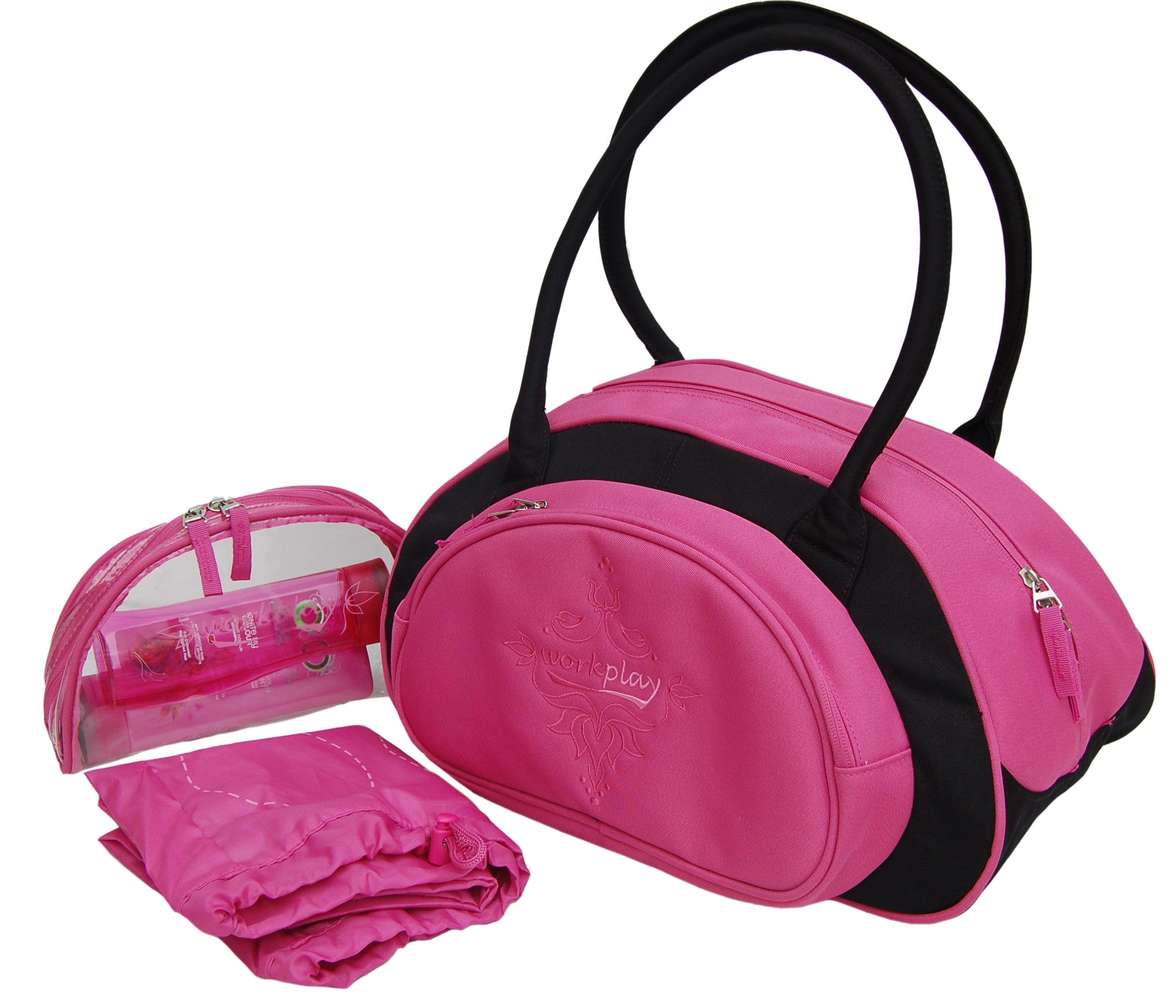 92ed431325ff6 Minigym Pink Small Gym Bag for Women