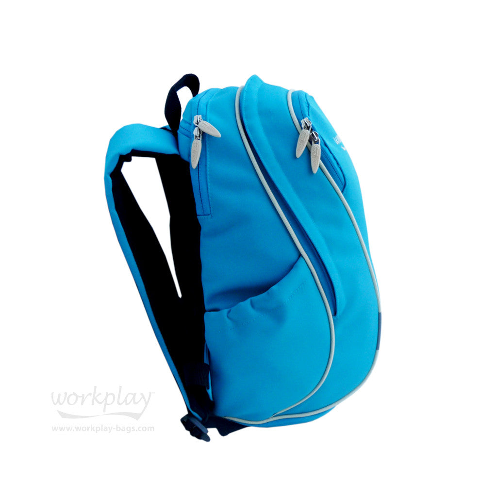 Ladies Gym Backpack with Shoe Compartment - Gymwise - Blue ... 14d2564daa