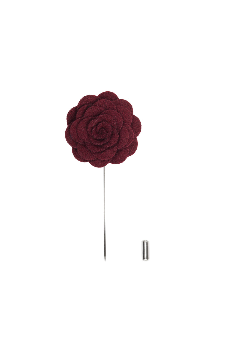 Dallas Maroon Lapel Pin