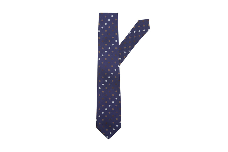 Dots Silk Necktie