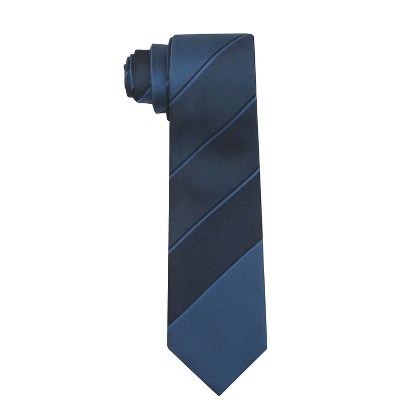 Manor Stripe Silk Necktie