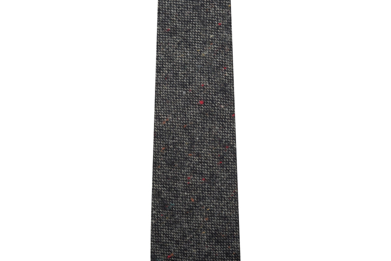 Multi Speckled Charcoal Necktie