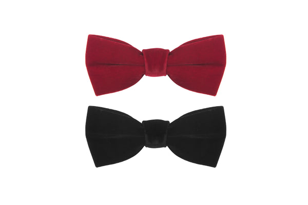 James Red Bowtie