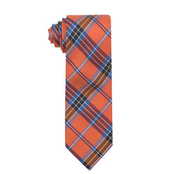 Sicily Plaid Silk Necktie