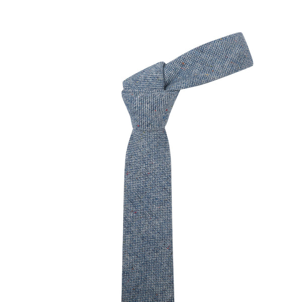 Multi Speckled Blue Necktie