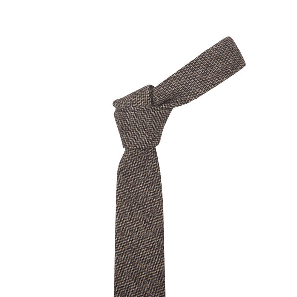 Speckled Brown Necktie