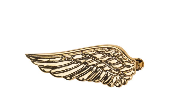 Wings Gold Tie Clip