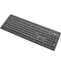 NEW KEYBOARD  FUJITSU KB410 USB BLACK GR/US