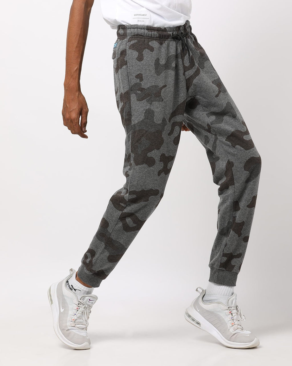 Camouflage Print Joggers with Slip Pockets (AJ)