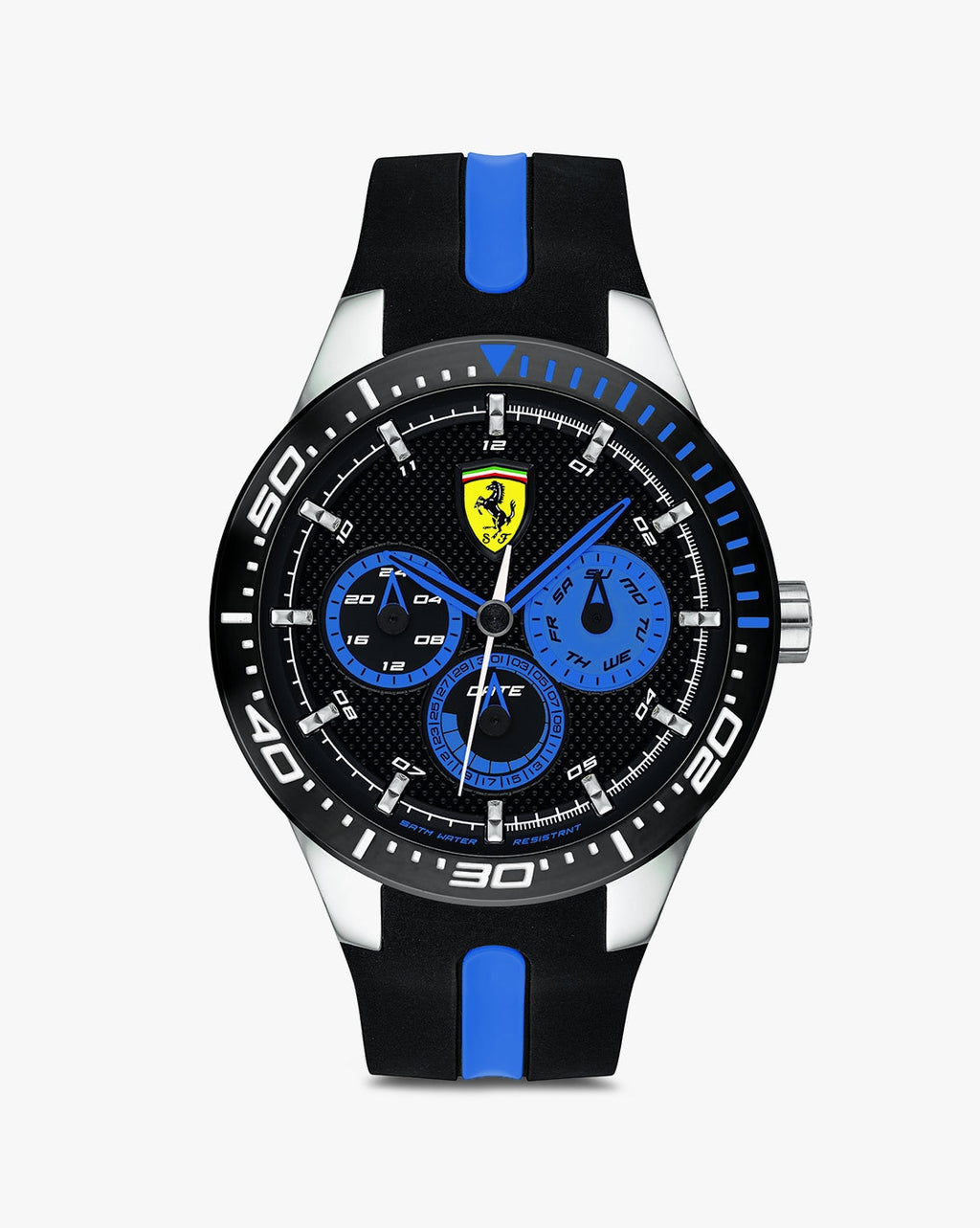 830587 Chronograph Watch with Silicone Strap