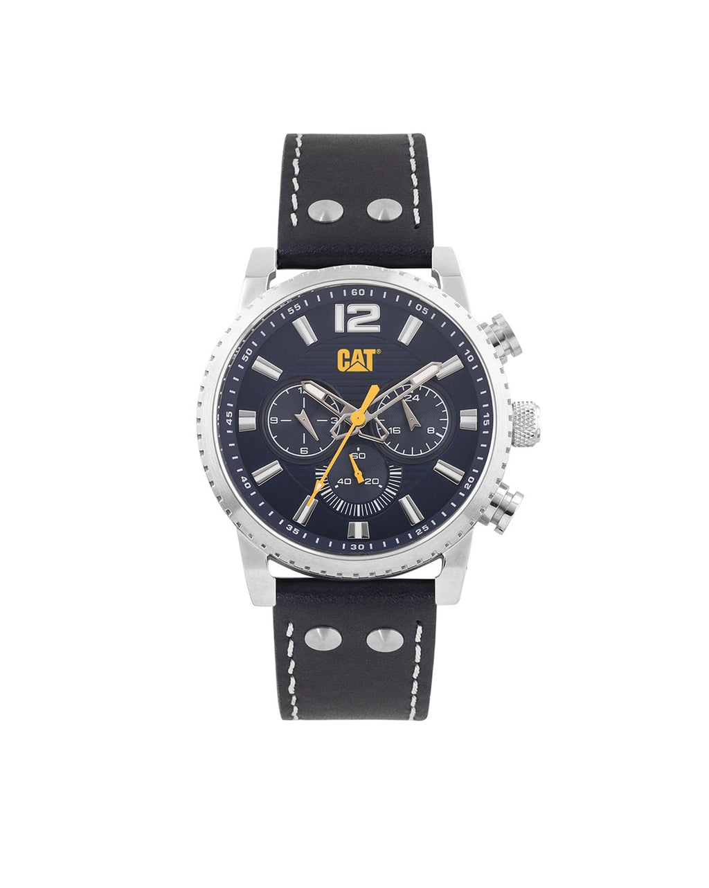 NP.149.36.632 Analogue Watch with Leather Strap
