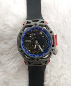 Hublot Big Bang Techframe Tourbillon Ferrari Edition Swiss Automatic Watch