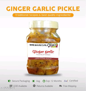Home made pickles with high quality ingredients 350gms