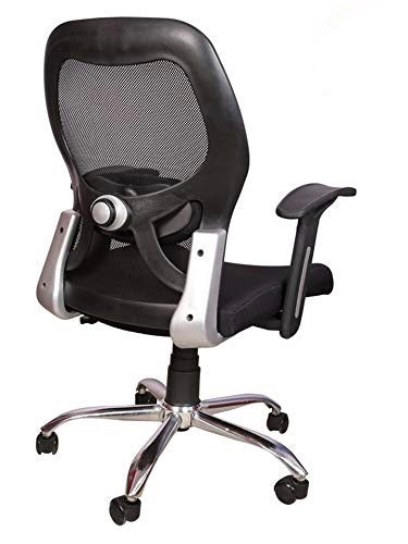 Revolving Chair for Work from Home/Office Chair & Computer Desk Chair (Black)