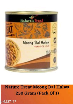 Nature Treat Moong Dal Halwa 250 Gram (Pack of 1)