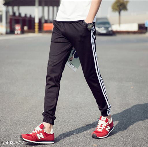 Trendy Stylish French Terry Men's Joggers