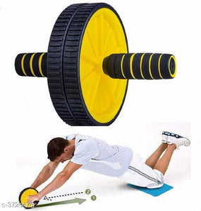 Ab Roller Gym For Exercise Fitness Equipment Workout Ab Exerciser For Mens & Women