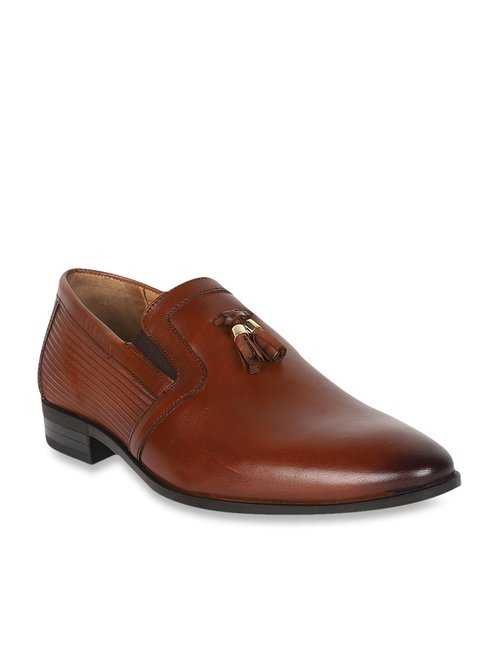 Louis Philippe Brown Formal Mocassins