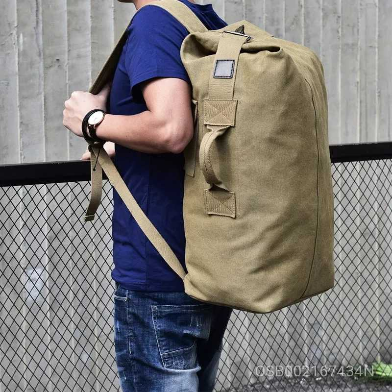 Sports Bags Casual Canvas Outdoor Travel Large Capacity