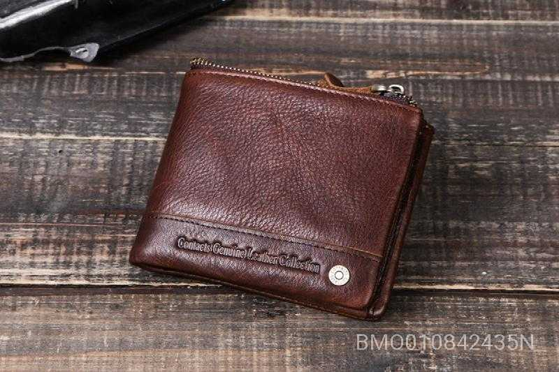Genuine Leather Card Slots Wallet