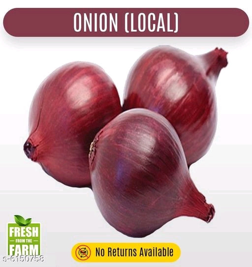 Onion (Local) lot - 20 KG