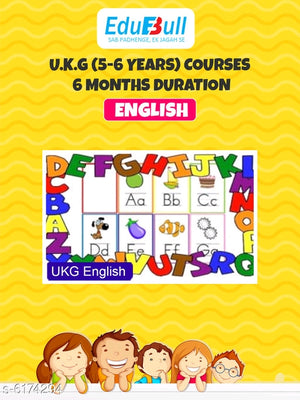 6 Months - Learning & Fun Activities for UKG kids