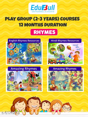 12 Months Learning & play Activities for or play group kids (2-3 Years)