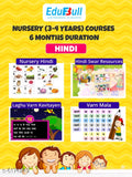6 Months Learning & Fun Activities for Nursery kids (3-4 Years)